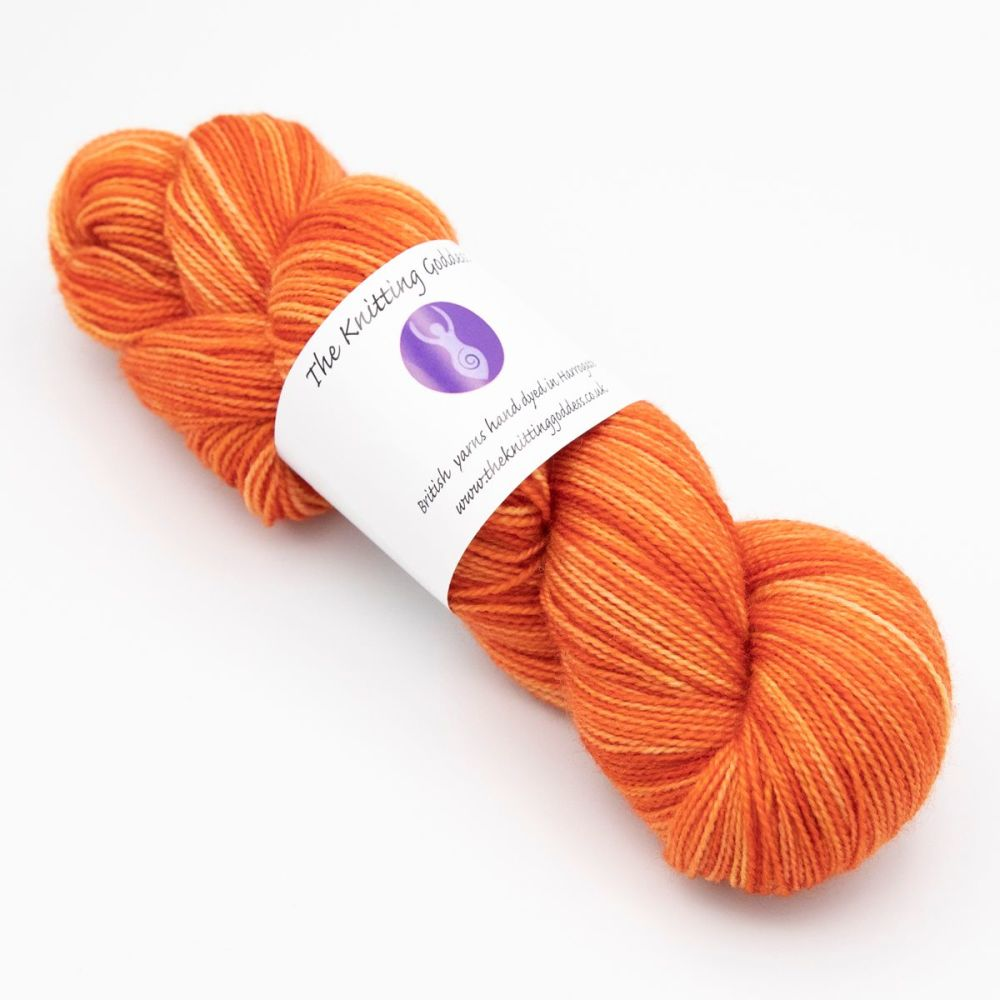 4ply BFL & Nylon - Copper