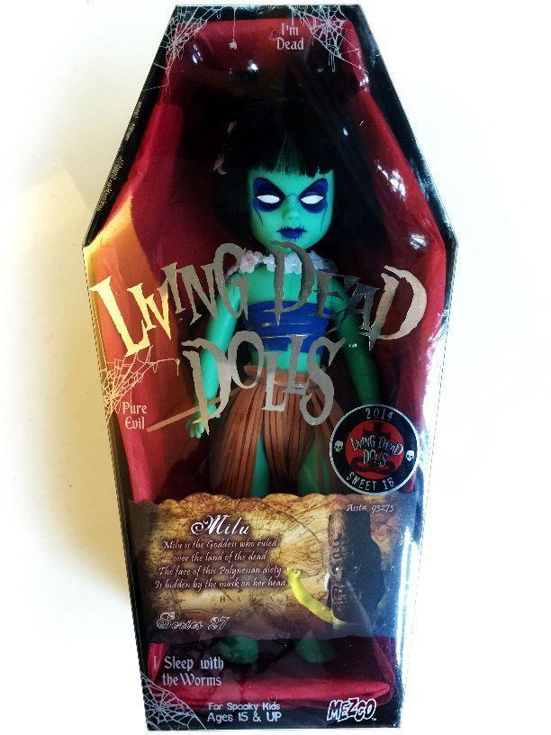 Living Dead Dolls Milu Mezco Series 27 Sweet Sixteen  VARIANT (RARE)