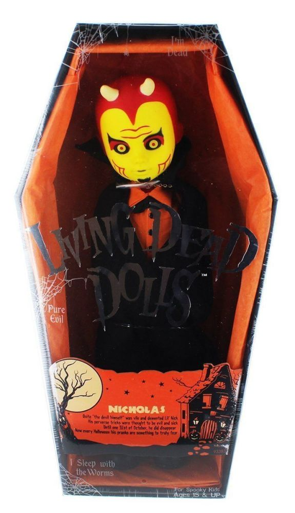 MEZCO LIVING DEAD DOLLS Series 32 Halloween Devil NICHOLAS