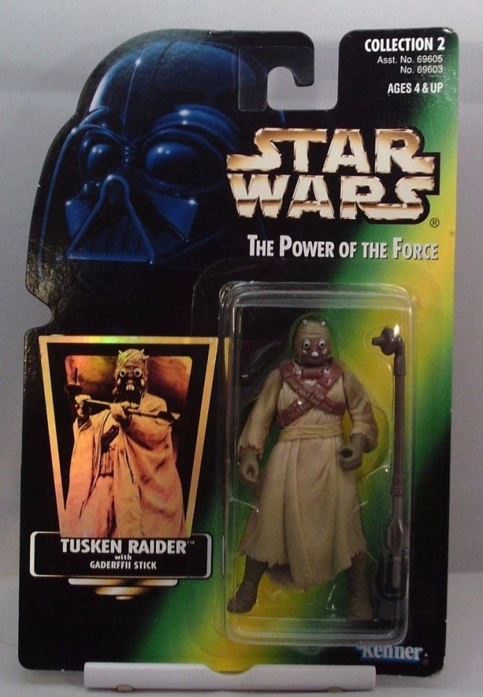 9/  KENNER / TUSKEN RAIDER / THE POWER OF THE FORCE 2 / GREEN CARD H/G