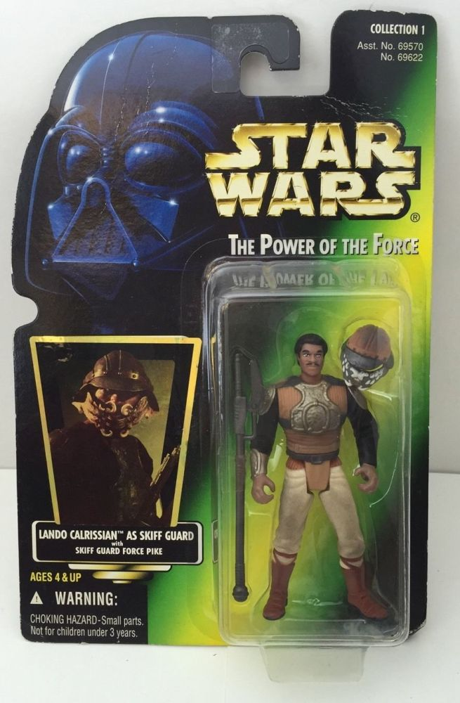 11/ KENNER / LANDO CALRISSIAN as SKIFF GUARD  / THE POWER OF THE FORCE 2