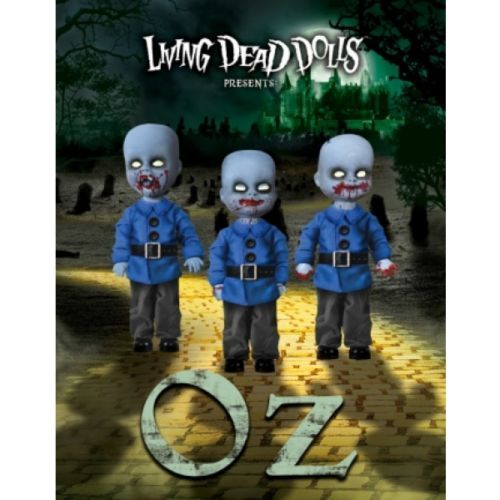 MEZCO / LIVING DEAD DOLLS OZ MINI MUNCHKINS 3-PACK (UK EXCLUSIVE - only 300