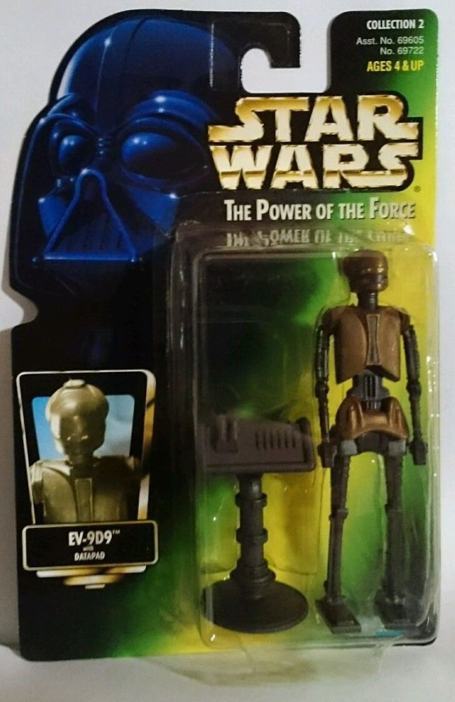 22/ KENNER / EV9D9  / THE POWER OF THE FORCE 2  / GREEN CARD