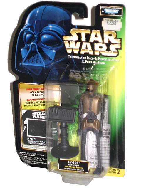 23/ KENNER / POTF Freeze Frame EV-9D9 DROID with Datapad