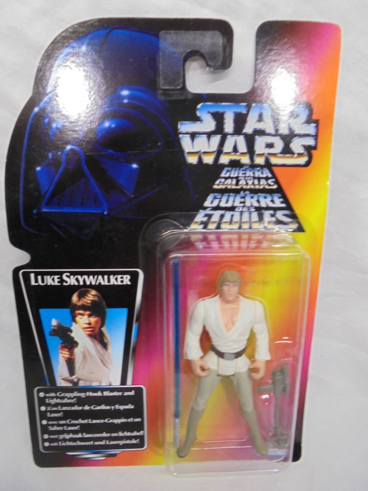 24 / KENNER GREEN CARD / TRI-LO-GO / Luke Skywalker (Long Lightsabre)