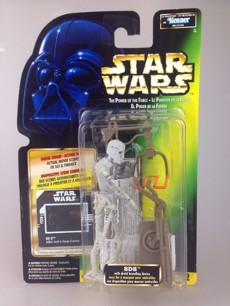 26/ KENNER / Power Of The Force Potf Figure 8D8 Droid Branding Device Freez