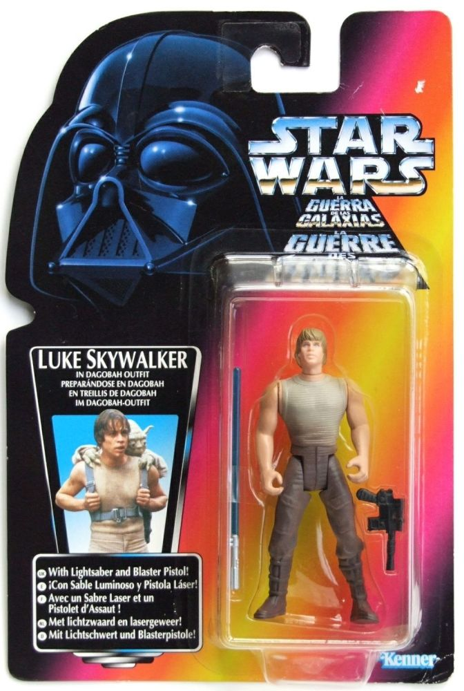30/ kenner /  LUKE SKYWALKER   tri-logo   ( DAGOBAH  )