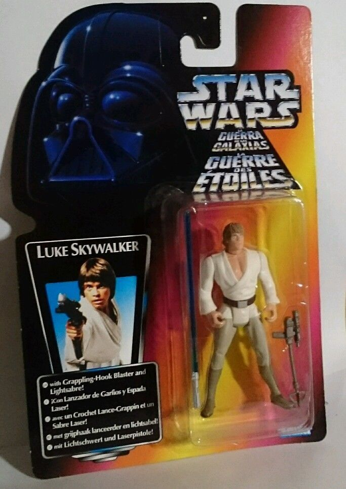 30/ kenner /  LUKE SKYWALKER   tri-logo   RED CARDED