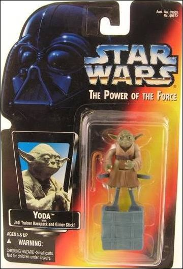 KENNER / RED CARD / POWER OF THE FORCE 2 / YODA