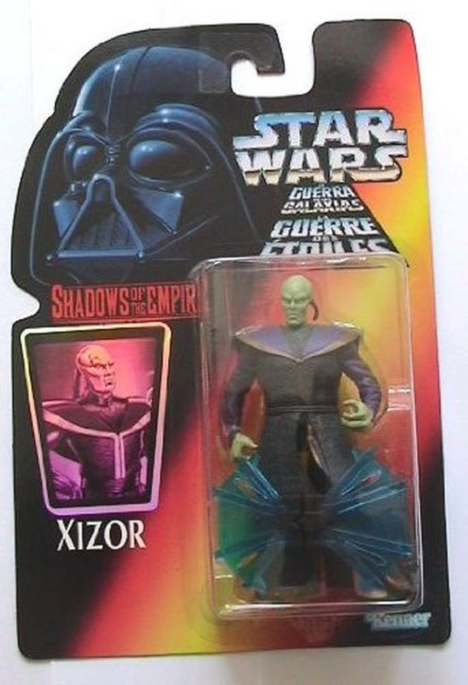 4 / KENNER /  XIZOR    / SHAWDOWS OF THE EMPIRE/ RED CARD