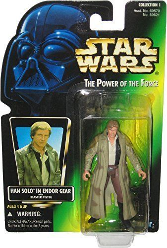 0/ KENNER / HAN SOLO  / POWER OF THE FORCE 2  / GREEN CARD