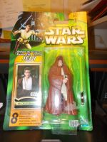7 / HASBRO / OBI WAN KENOBI (JEDI )  / POWER OF THE JED