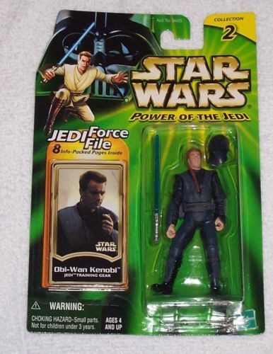15 / HASBRO OBI-WAN KENOBI    JEDI TRAINING POWER OF THE JEDI