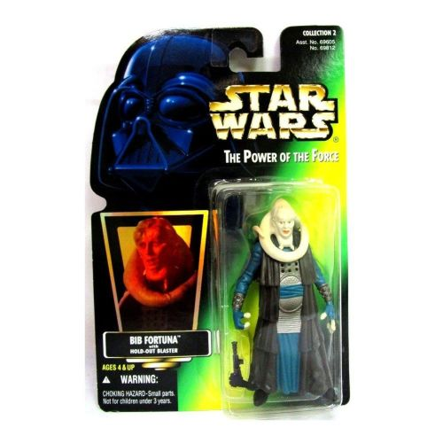 38 / KENNER / . POWER OF THE FORCE 2 / GREEN CARD / BIB FORTUNA H/G