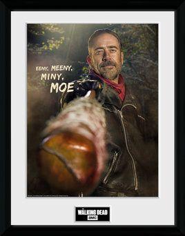 The Walking Dead , Negan , 30 x 40 Collector Print