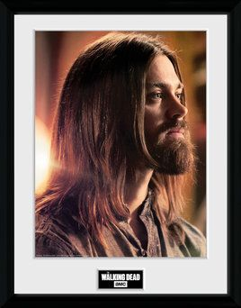 The Walking Dead , Jesus  , 30 x 40 Collector Print