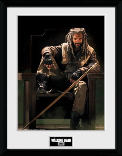 The Walking Dead , Ezekial , 30 x 40 Collector Print