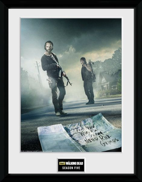The Walking Dead , seasion 5   , 30 x 40 Collector Print