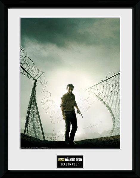 The Walking Dead , seasion 4   , 30 x 40 Collector Print