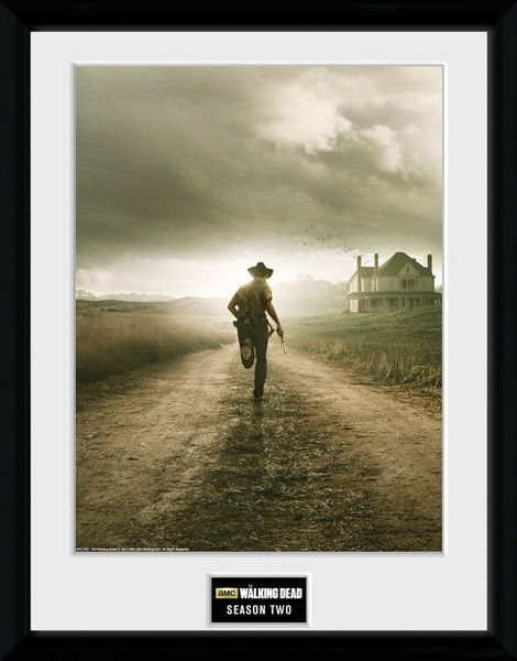 The Walking Dead , seasion 2   , 30 x 40 Collector Print