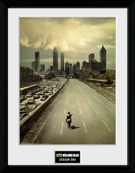 The Walking Dead , seasion 1   , 30 x 40 Collector Print