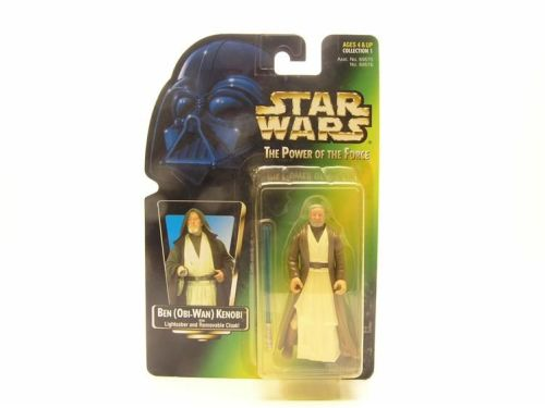 53 / KENNER / BEN OBI-WAN KENOBI  / POWER OFTHE FORCE 2 GREEN  CARD