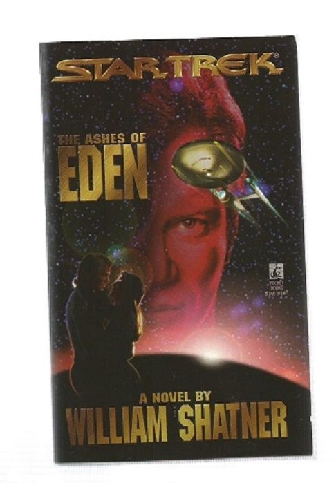 STAR TREK , THE ASHES OF EDEN  , PAPER  BACK BOOK
