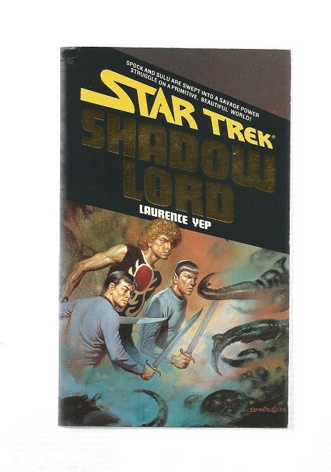 STAR TREK , SHADOW LORD  , PAPER  BACK BOOK