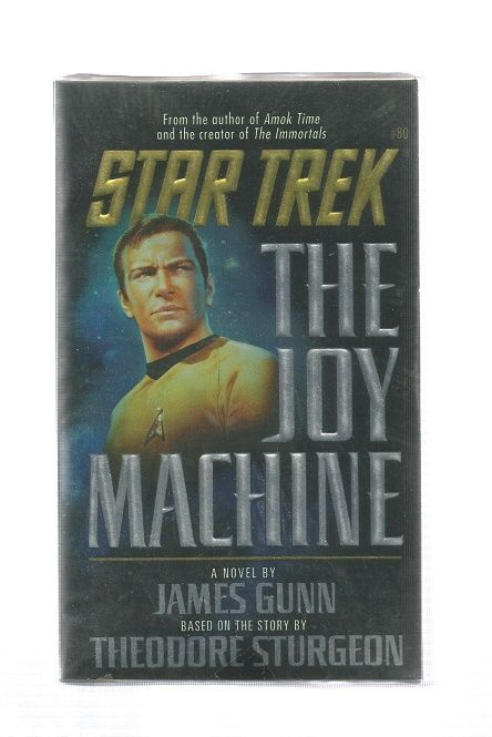 STAR TREK , THE JOY MACHINE , PAPER BACK BOOK