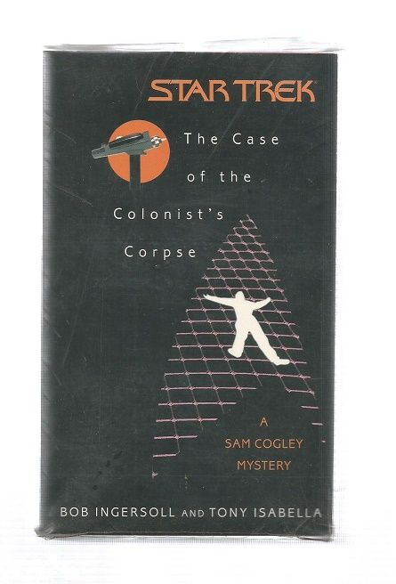 STAR TREK , THE CASE OF THE COLONISTS CORPSE  , PAPER BACK BOOK