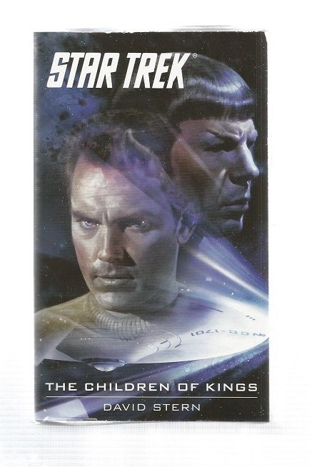 STAR TREK , THE CHILDREN OF KINGS , PAPER BACK BOOK