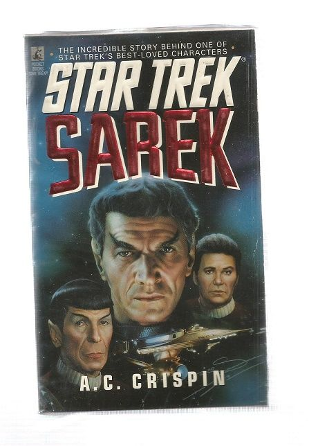 STAR TREK , SAREK   , PAPER BACK BOOK