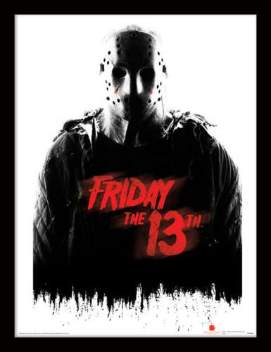 FRIDAY THE 13TH Framed Photographic Licensed