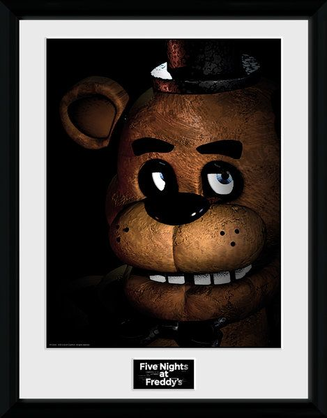 Framed Photographic Licensed , Five Nights at Freddy's Fazbear