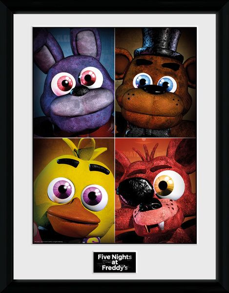 Framed Photographic Licensed  , Five Nights at Freddy's Quad