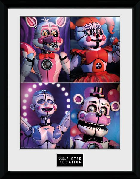 Framed Photographic Licensed  , Five Nights At Freddy's Sister Location Qu