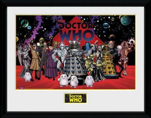 Doctor Who compilation Framed Photographic Licensed