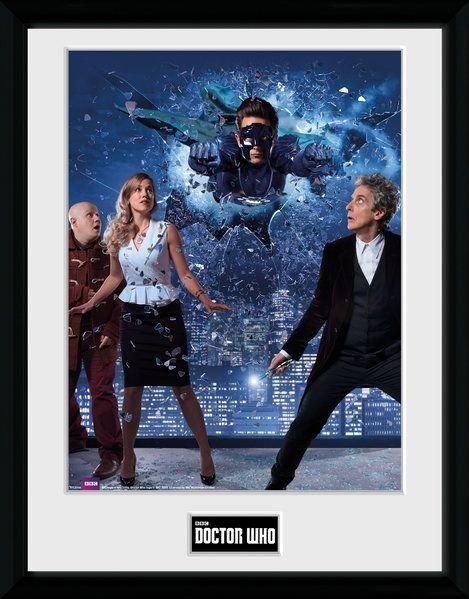 Doctor Who Xmas Iconic 2016  Framed Photographic  Licensed