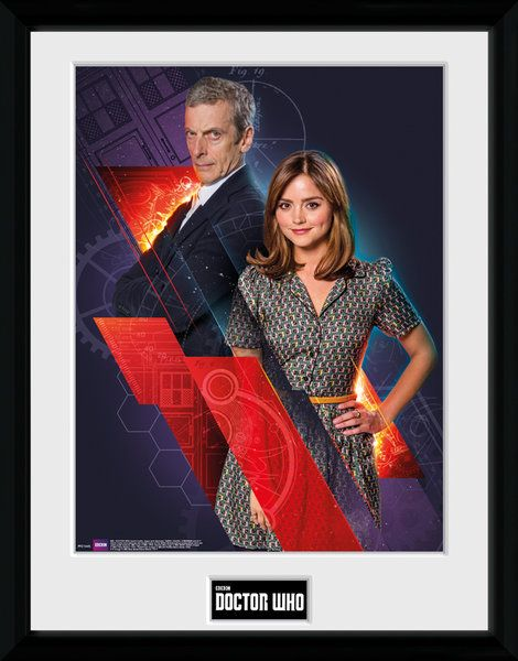 Doctor Who Clara & Doctor  Framed Photographic  Licensed