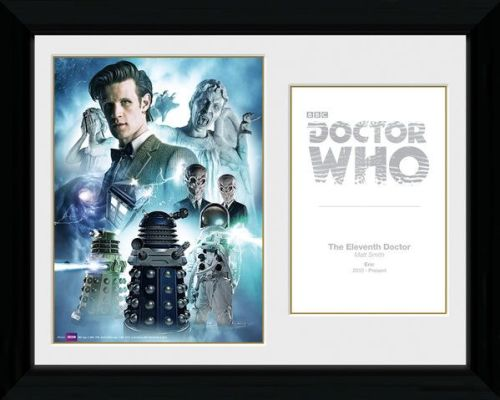 Doctor Who 11th Doctor , Framed Photographic Licensed