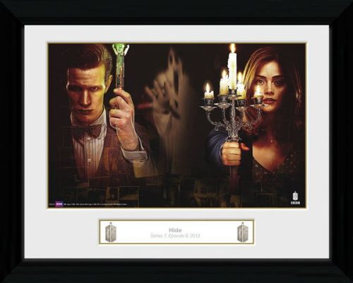 Doctor Who Hide,  Framed Photographic  Licensed
