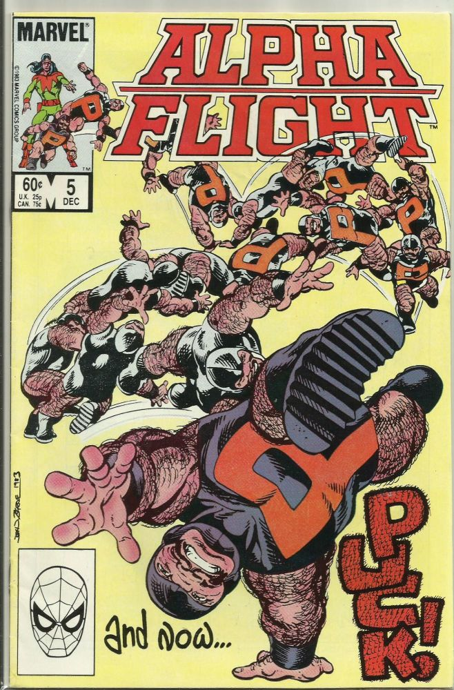 BOX 1 ,  ALPHA FLIGHT