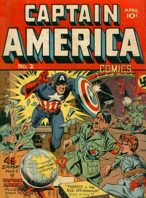 BOX 4 & 5 , MARVEL COMICS . CAPTAIN AMERICA . THIS COMIC IS FOR DISPLAY