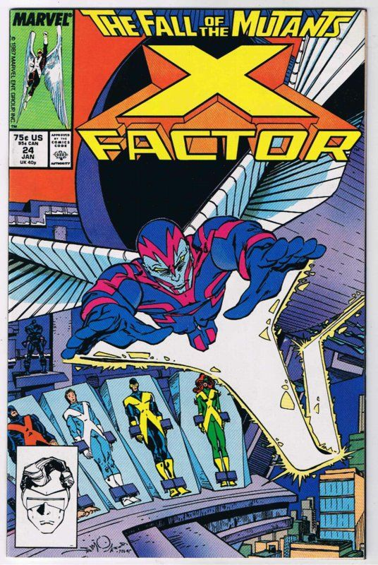 BOX  9 & 10 & A3 .   MARVEL COMICS , X-FACTOR  ,THIS COMIC IS FOR DISPLAY