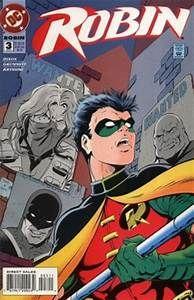 BOX 11 . DC COMICS , ROBIN ,THIS COMIC IF FOR DISPLAY