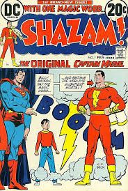 BOX 18 . DC. COMICS , SHAZAM ,THIS COMIC IS FOR DISPLAY