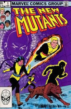 BOX  23. MARVEL COMICS , MUTANTS  ,THIS COMIC IS FOR DISPLAY