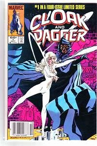 BOX 24 . MARVEL COMICS , CLOAK AND DAGGER   ,THIS COMIC IS FOR DISPLAY