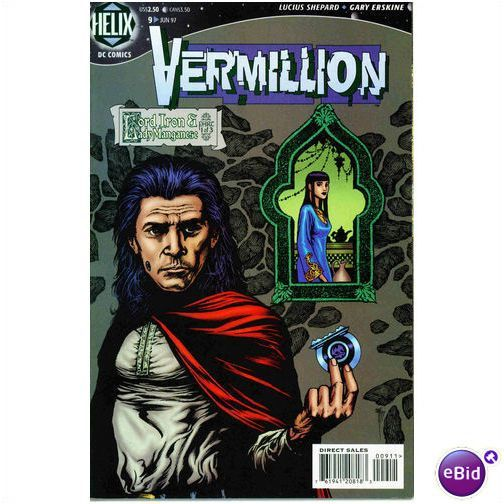 BOX 25 . DC. COMICS , VERMILLION  ,THIS COMIC IS FOR DISPLAY