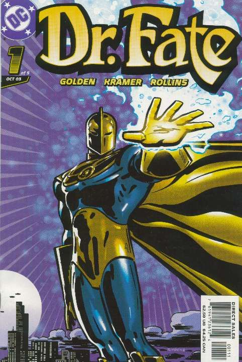 BOX 25 . DC. COMICS , DR.FATE ,THIS COMIC IS FOR DISPLAY